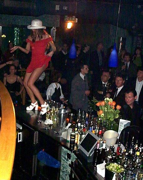Miami in einer Diskothek